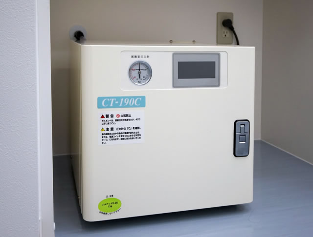 エチレンオキサイドガス滅菌機
