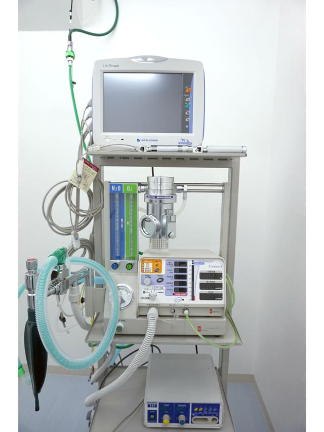 生体モニター・人工呼吸器・麻酔器